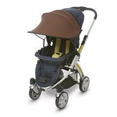 Козырёк от солнца Manito, для коляски и автокресла, цвет шоколадный