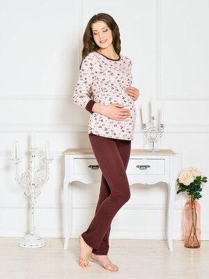 Пижама для беременных и кормления Jessica