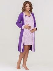 Комплект в роддом Jane, фиолетовый