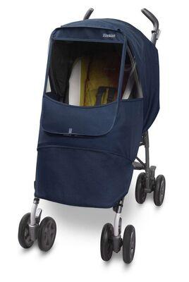Универсальный дождевик  на коляску Manito Melange Alpha, цвет тёмно-синий
