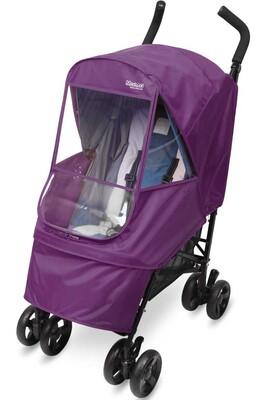 Дождевик на коляску Manito Elegance Alpha Small, цвет фиолетовый