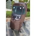 Дождевик на коляску Manito Elegance Alpha, цвет шоколадный