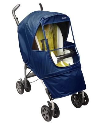 Дождевик на коляску Manito Elegance Alpha Small, цвет тёмно-синий