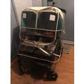 Силиконовый дождевик для двойной коляски Manito Imperial Twin