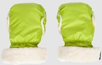 Уютная муфта для рук Manito, цвет салатовый