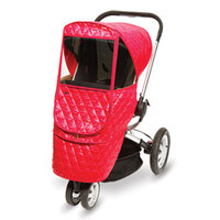 Утеплённый чехол для коляски-гамака  Manito Castle Beta, цвет красный
